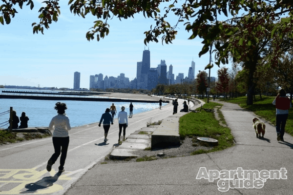 With several safe, well-lit paths and trails around the city, Chicago is a runner's paradise.