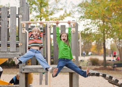 Great playground equipment can make or break parks for kids in Chapel Hill.