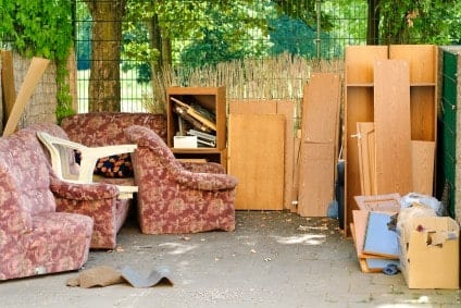 Where to donate clothing and furniture in dallas for Furniture yard sale