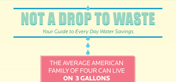 water savings tips