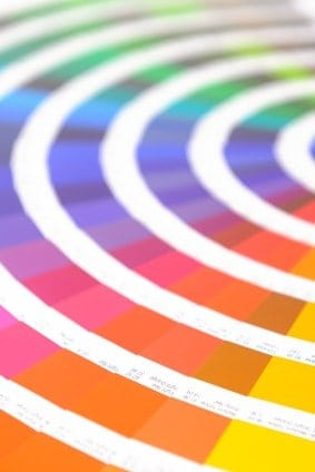 If you're not sure where to start with decorating, try experimenting with colors by using a color wheel.