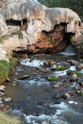 Hot springs near Santa Fe
