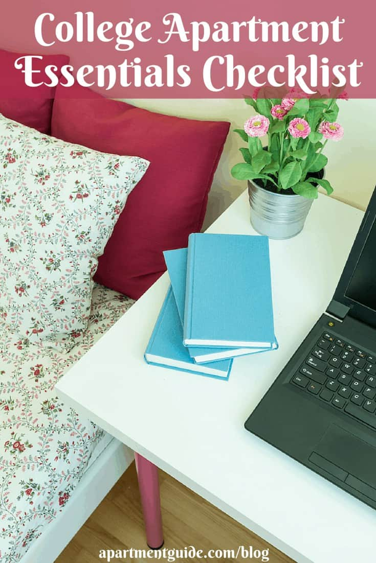 College Apartment Essentials Checklist
