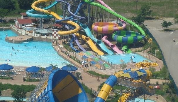 Six Flags Hurricane Harbor, located in Valencia, is one of southern California's best water parks.
