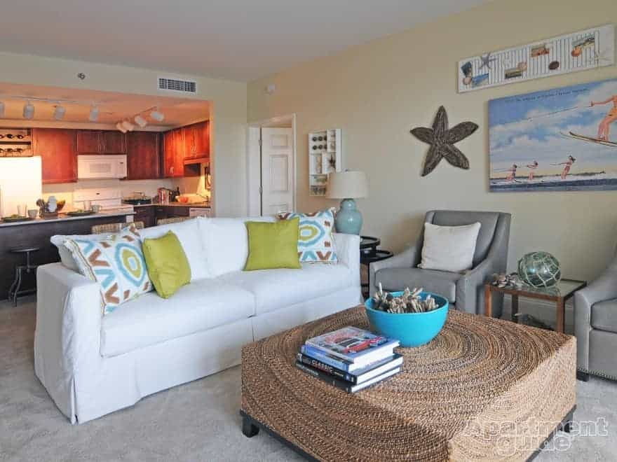Introduction to tropical decor for Coastal apartment decor