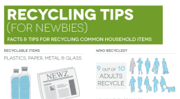 recycling tips for newbies