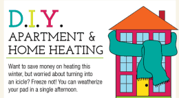 heating your apartment