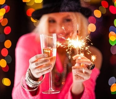 Have yourself a merry little New Year's Eve at home this year.