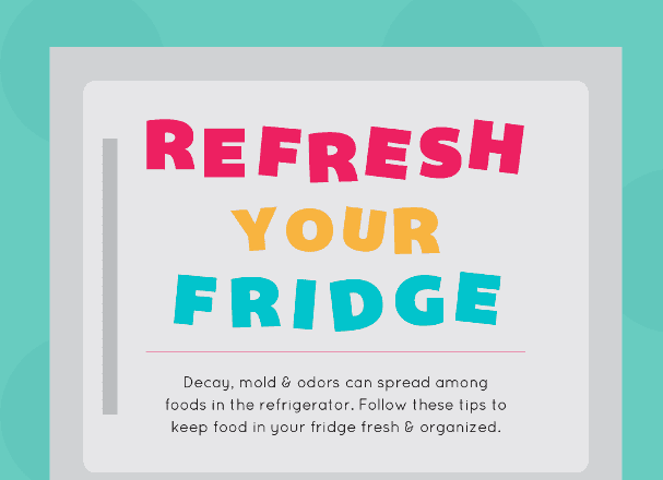 Refresh Your Fridge for an Organized Space