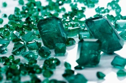 Pantone's color of the year is Emerald. Incorporate this in your decor in 2013.