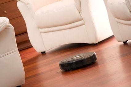 Consider modern-day solutions that make floor cleaning less of a chore. This cleaning technology for apartments makes robot maids seem plausible!
