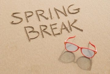 Being flexible with your travel dates can help save money on spring break.
