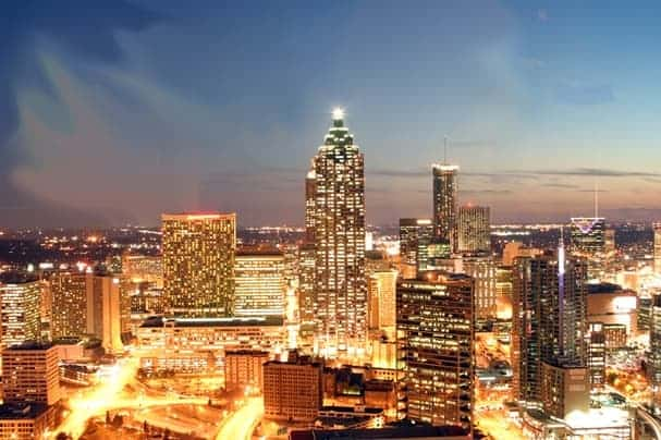 Atlanta was the most popular moving destination in 2013, according to truck reservation data from Penske.