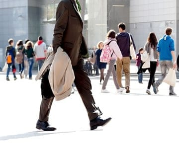 Get your walk on in these cities ranked the most pedestrian-friendly by WalkScore.com.
