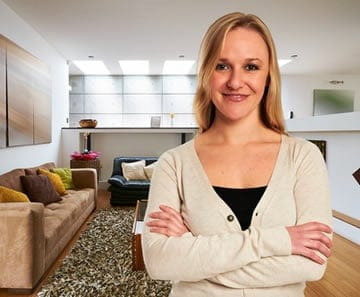 Young, professional women are proving to be a driving force in the apartment living boom.