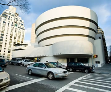 The Solomon R. Guggenheim Museum in New York City