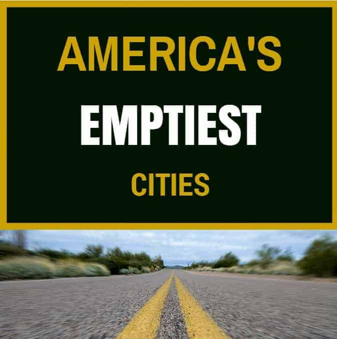emptiest cities