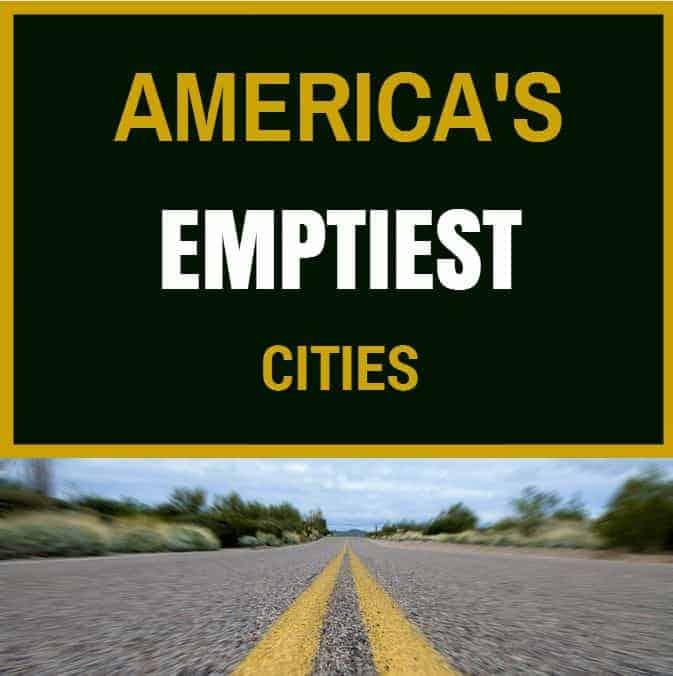 emptiest cities