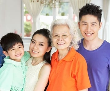 Consider the challenges and great advantages of living with an extended family.