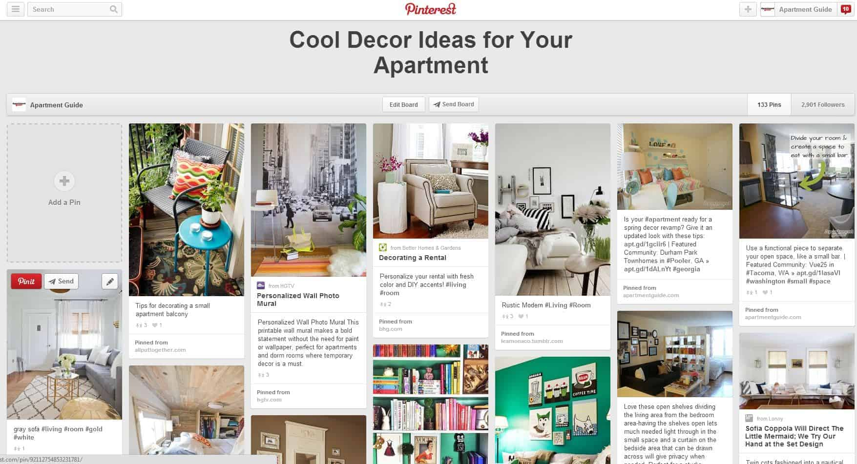 Find Decor Inspiration Online With Pinterest And Other