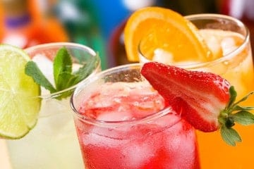 Summertime drinks are more affordable when you make them yourself at home!