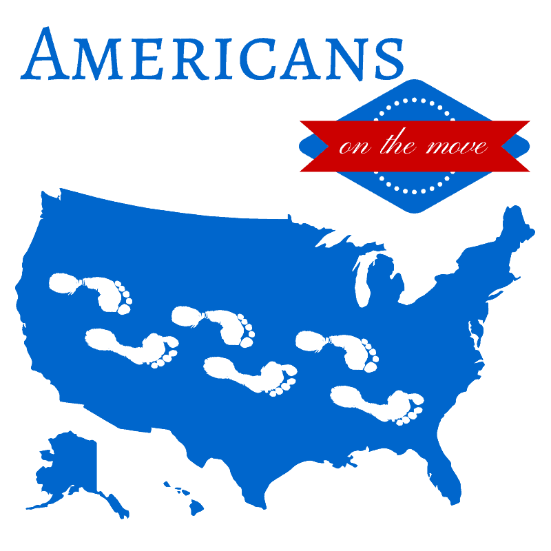 Apt Guide: Americans On The Move: Latest Census Discoveries