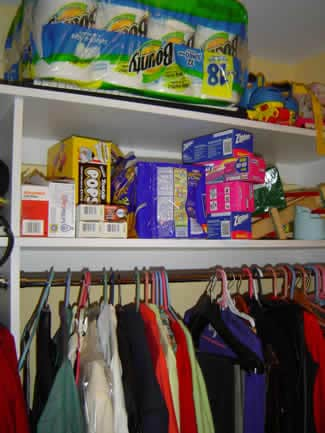 Another example of a well-organized closet