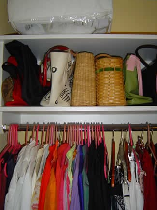 Fall is the time most people choose to clean up their closets and start fresh!
