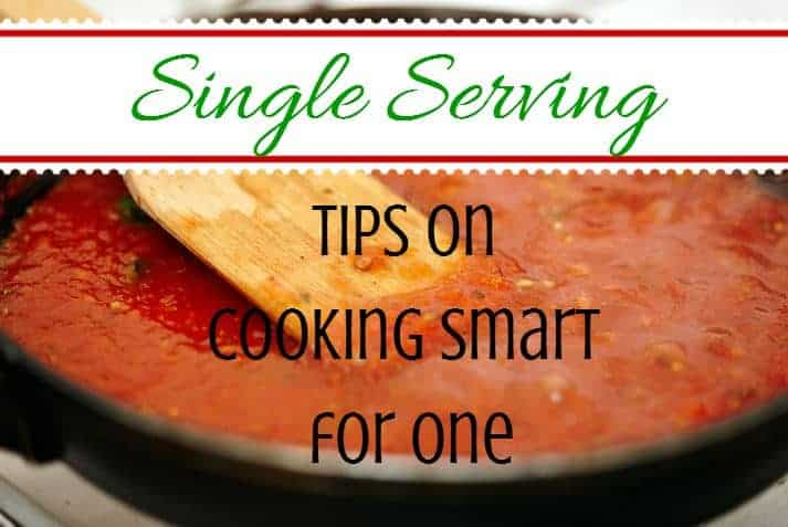 Single serving tips on cooking smart for one apartmentguide how to cook for one person forumfinder Images