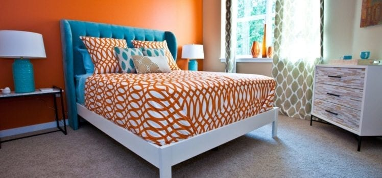 Apartment Decor Is Orange The New Black ApartmentGuide Best 2 Bedroom Apartments In Alexandria Va Decoration