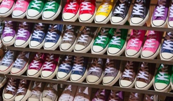 Storage racks help even the biggest shoe aficionados keep their footwear organized.