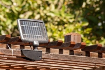 Solar Panels Come In Small Sizes Now So You Can Just One And Cover