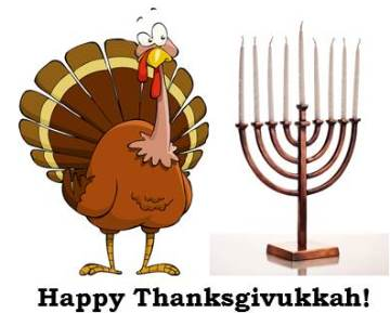 Happy Thanksgivukkah! How to Celebrate Thanksgiving and Hanukkah on the Same Day