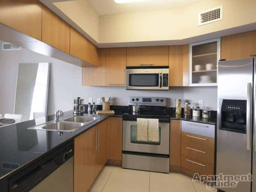 Updated kitchen appliances are a major factor that draw renters to an apartment, especially if they're stainless steel.