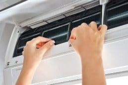 change air filter 250p