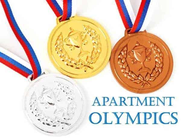 Apartment Olympics: Non-Dangerous Games That Bring Home the Gold