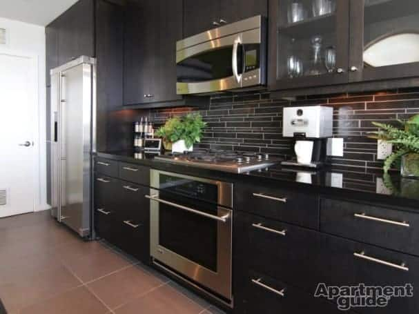 You should spend a little more on small kitchen appliances, but save your money on dishes. Image: West 6th, Tempe, AZ