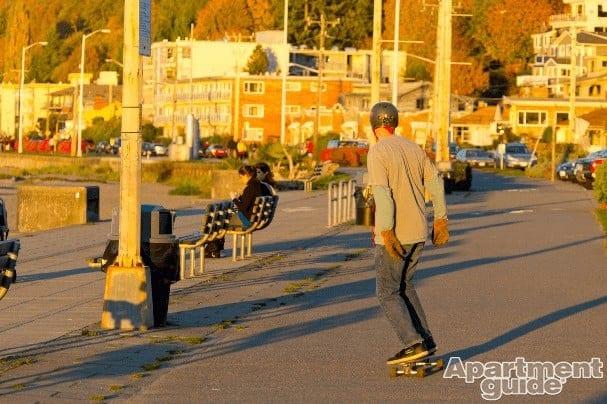 Skater Seattle