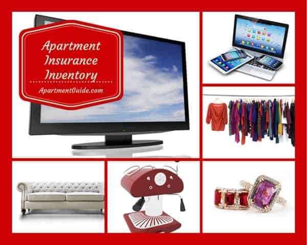 Your Apartment Insurance Inventory