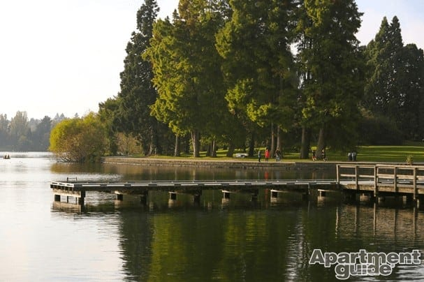 green lake - watermarked
