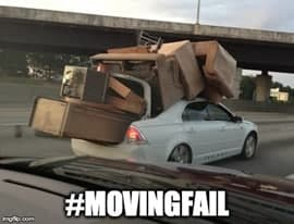 #MovingFail: You'll Want to Avoid These Funny Moving Mistakes!
