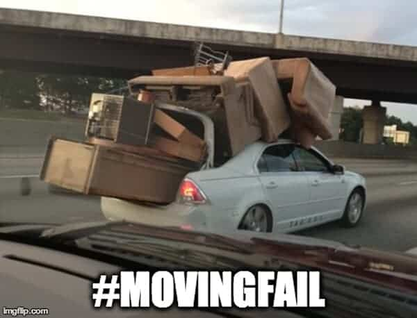"It's tough to avoid a few moving mistakes. But when you do have a funny mishap, you might want to share it. Along the way, learn from a little moving ""wis-dumb."""