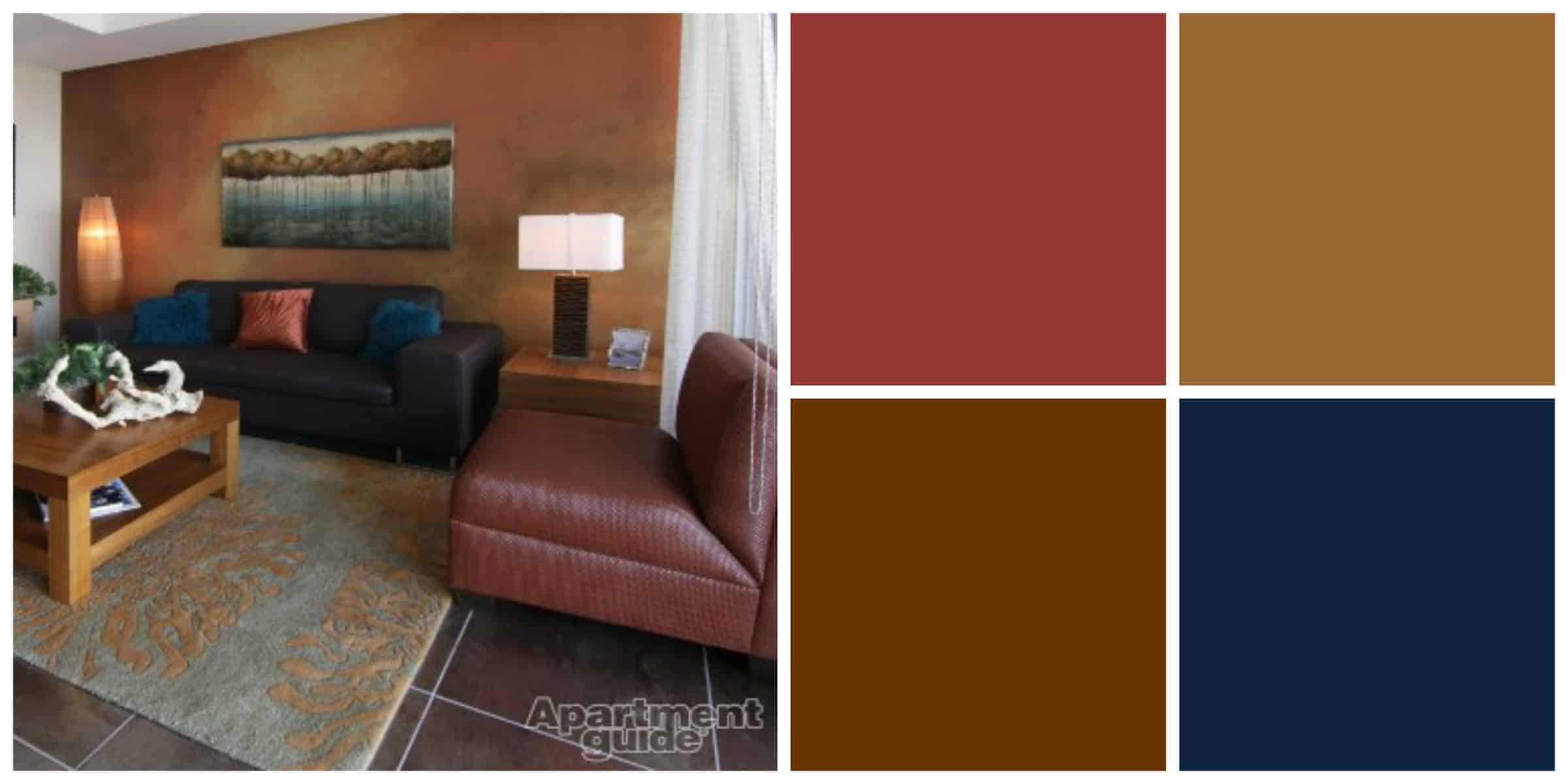 Earth Colors Paint 8 easy breezy earth tone palettes for your apartment