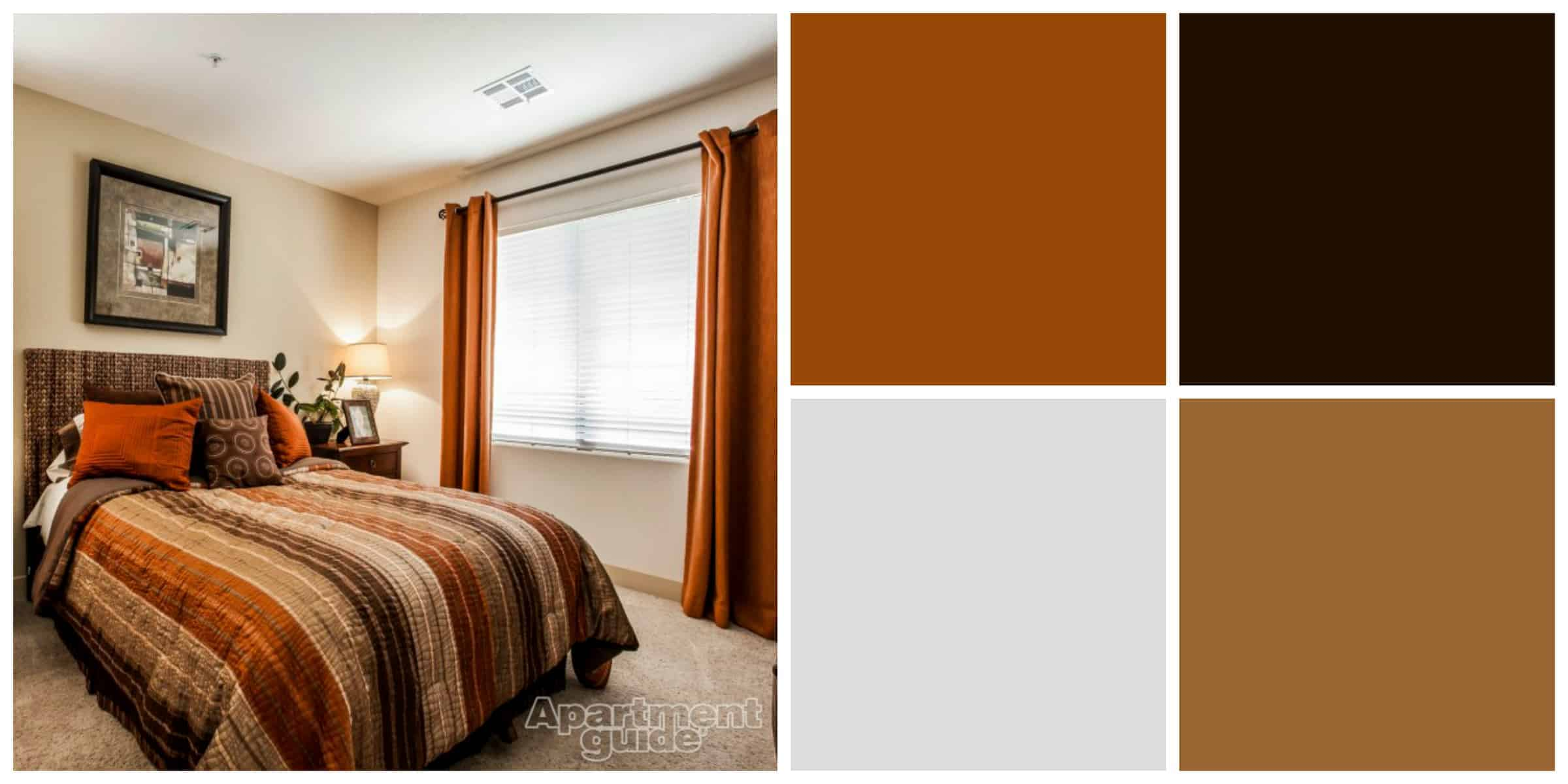 8 easy breezy earth tone palettes for your apartment Earth tone bedroom