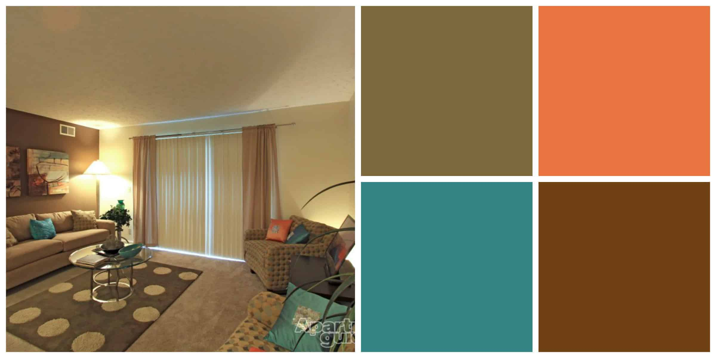 Earth tone wall colors for living room 2017 2018 best What color room