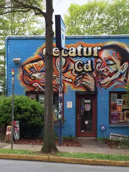 Decatur CD, near downtown Decatur, GA