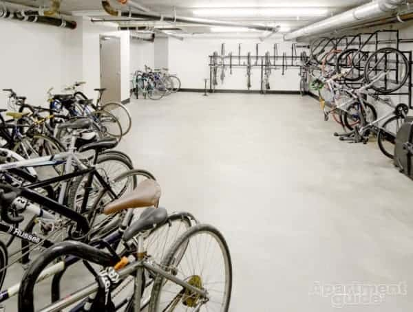 Bike Storage in a Small Apartment   ApartmentGuide.com