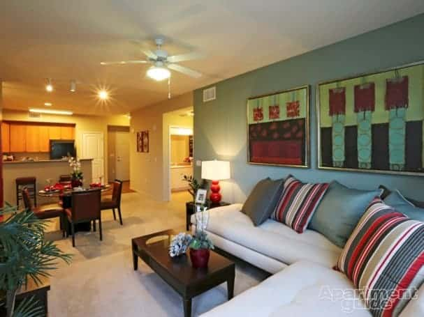 Make sure you've got plenty of seating for your guests. Image: Crossing at Daybreak Apt Homes, South Jordan, UT