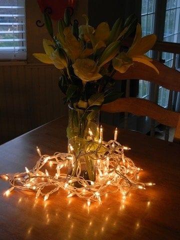 Fairy Light Sticks Vase Vase And Cellar Image Avorcor