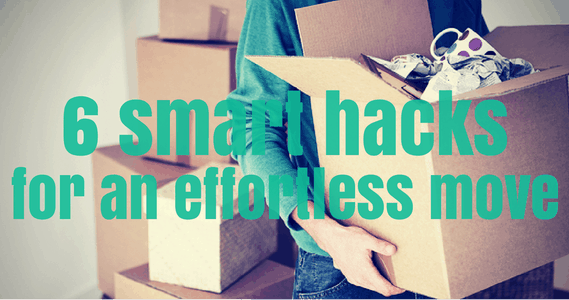 6 smart hacks for an effortless move